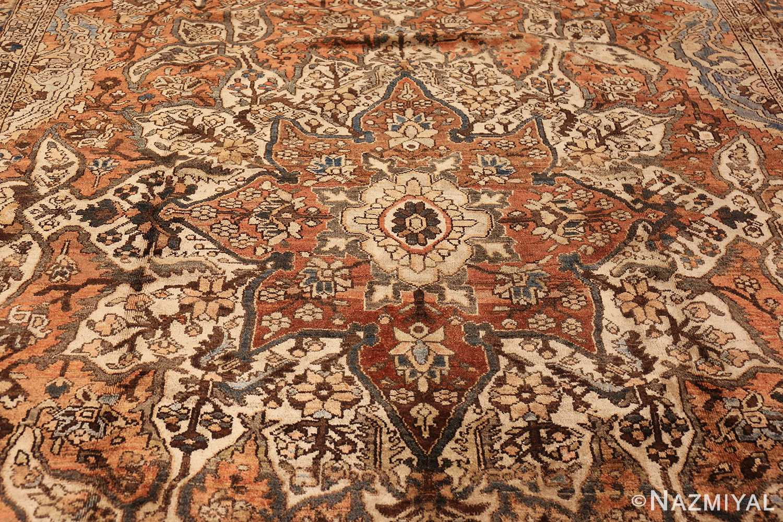vintage persian bakhtiari rug 46836 medallion Nazmiyal