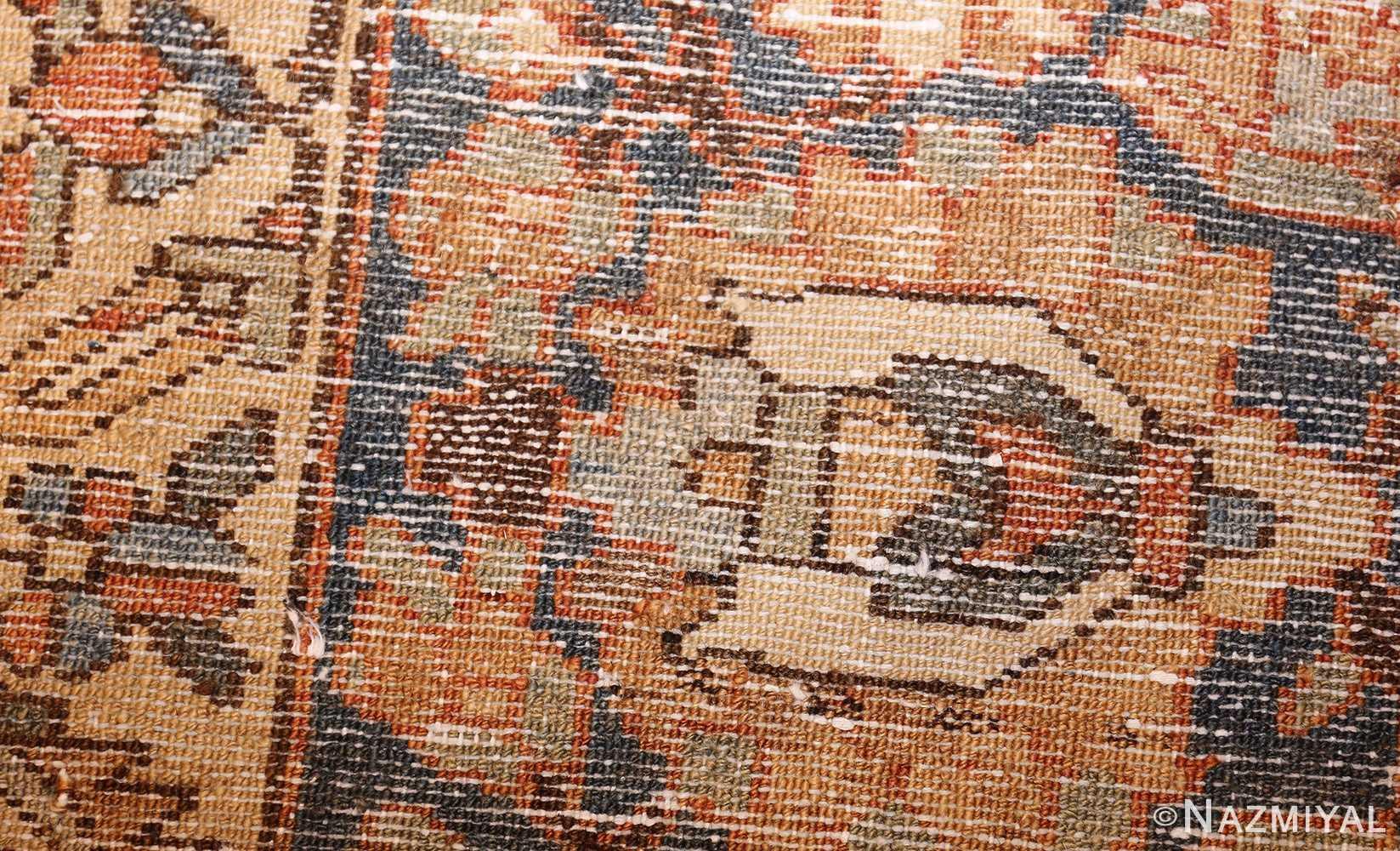 vintage persian bakhtiari rug 46836 weave Nazmiyal
