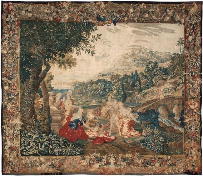 Best Antique Rugs - Antique Felimsh Tapestry