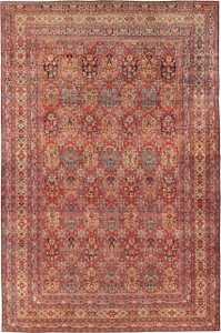 Antique Oversize Persian Kerman Carpet 46909 Nazmiyal