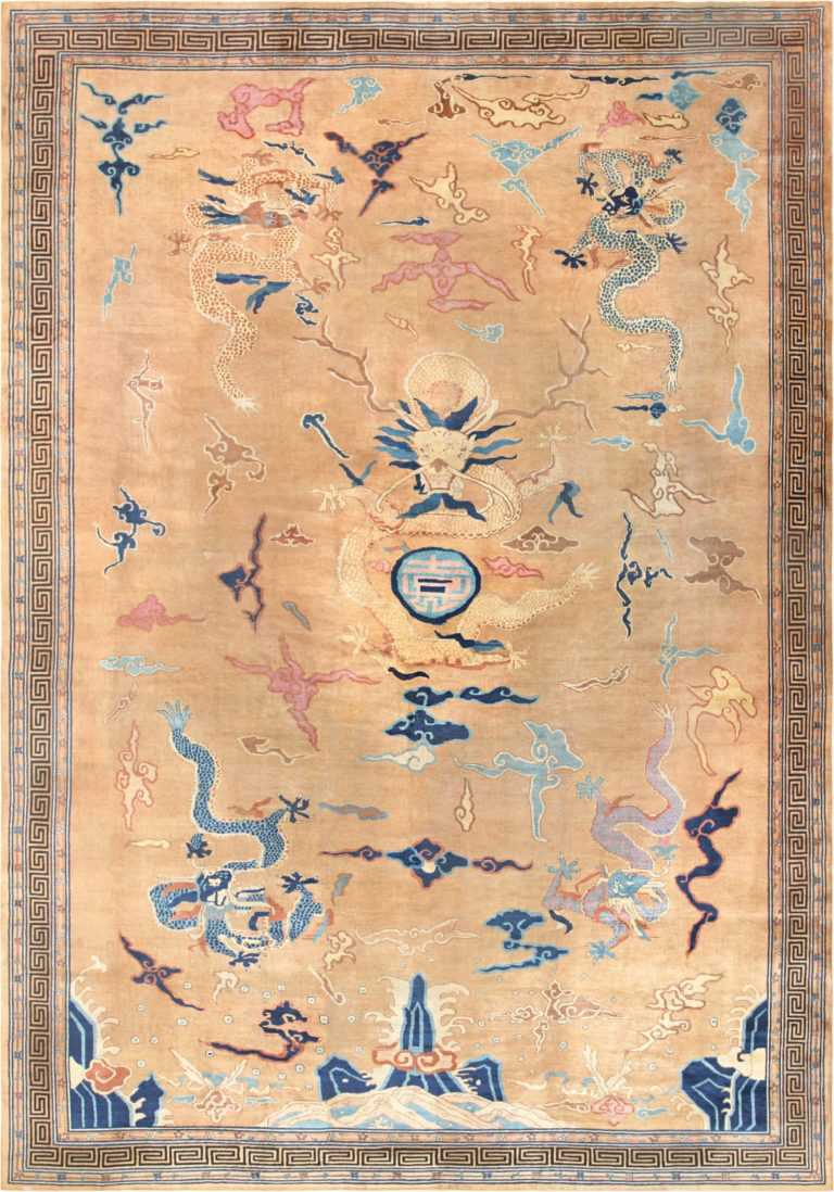 Chinese Art Deco Rug 46621 Detail/Large View