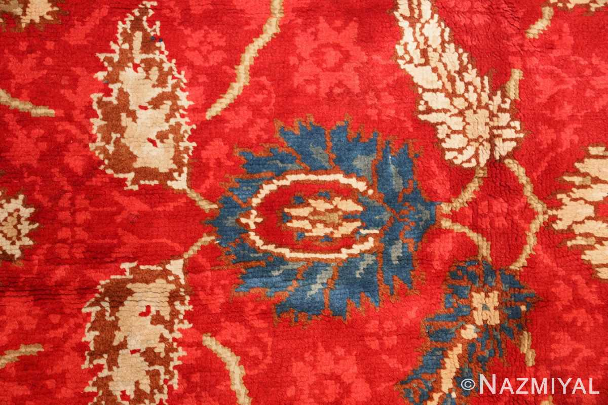 antique arts and crafts donegal irish rug 47137 blue Nazmiyal