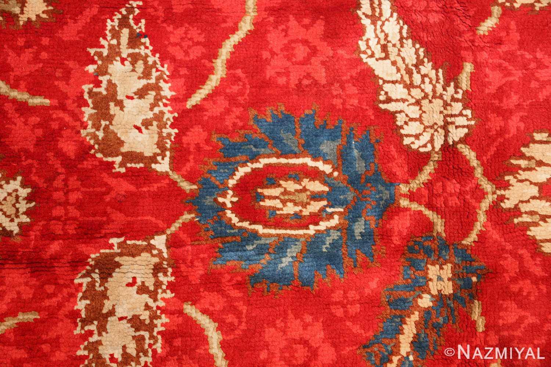 antique arts and crafts donegal irish rug 47137 blue Nazmiyal