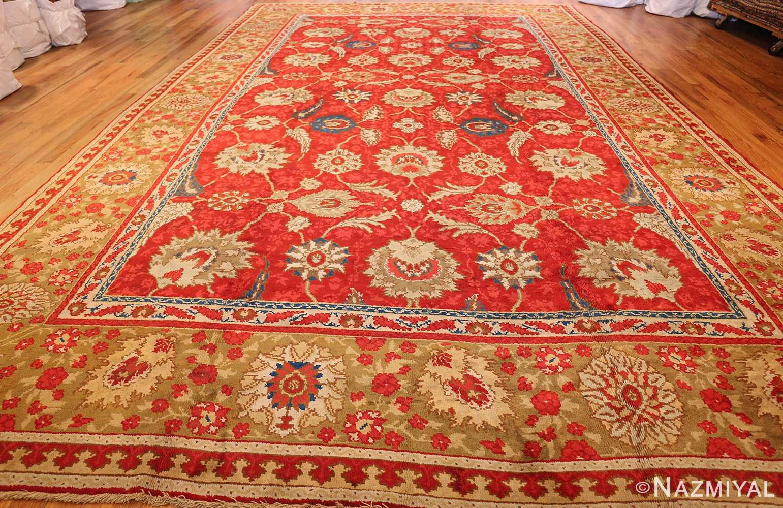 antique arts and crafts donegal irish rug 47137 whole Nazmiyal