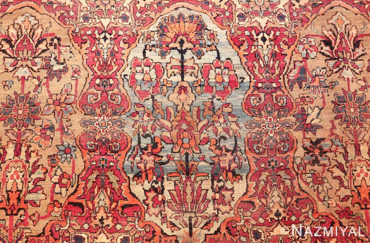 antique oversize persian kerman carpet 46909 blue Nazmiyal