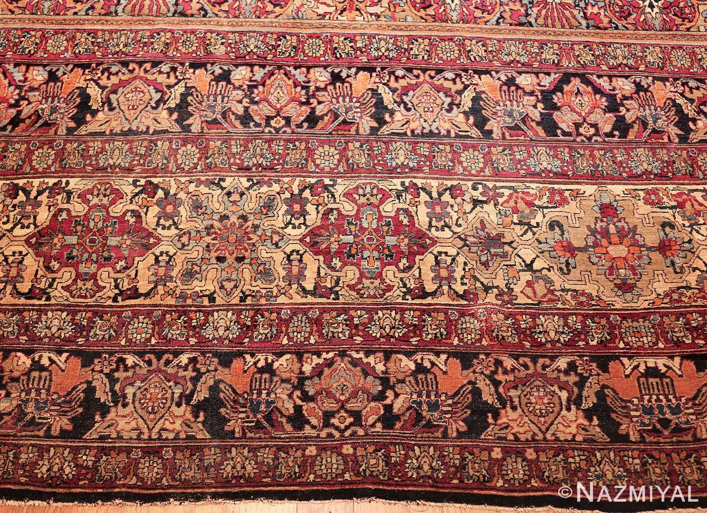 antique oversize persian kerman carpet 46909 border Nazmiyal