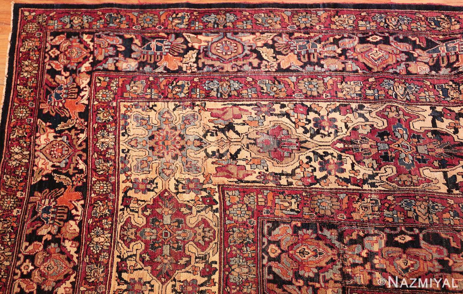 antique oversize persian kerman carpet 46909 corner Nazmiyal