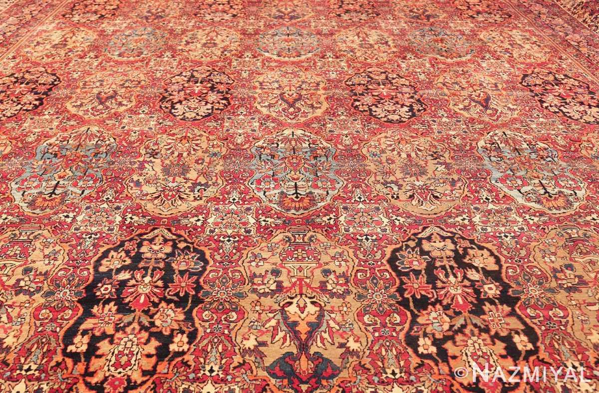antique oversize persian kerman carpet 46909 full Nazmiyal
