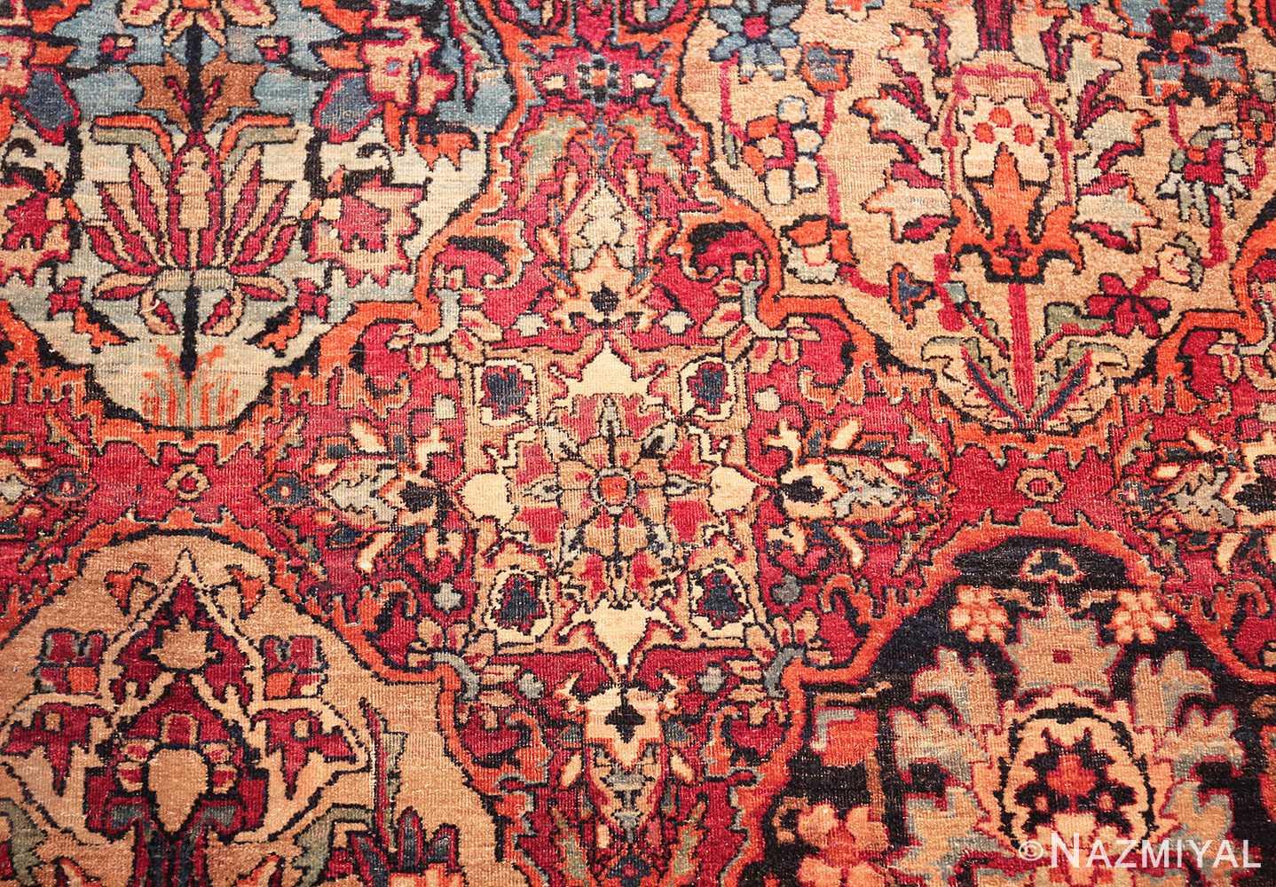 antique oversize persian kerman carpet 46909 tiny Nazmiyal