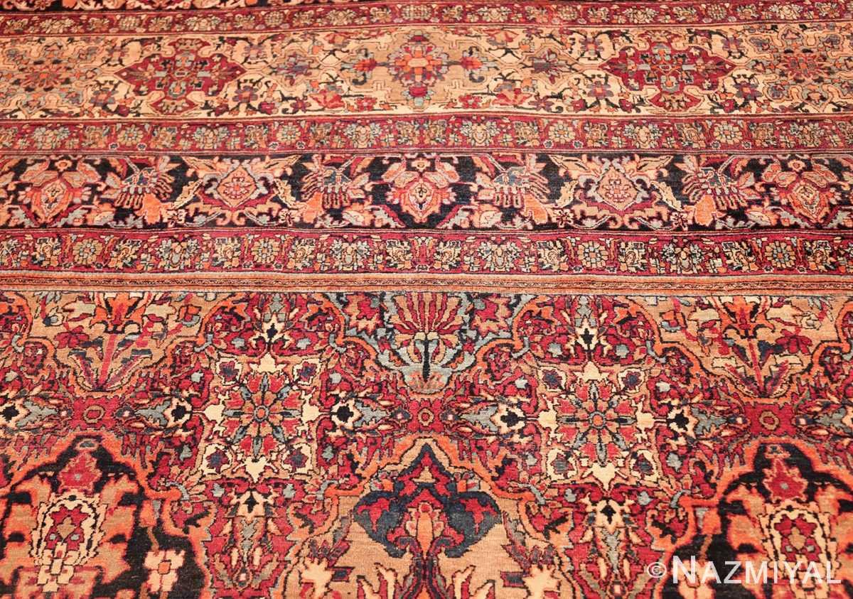 antique oversize persian kerman carpet 46909 top Nazmiyal