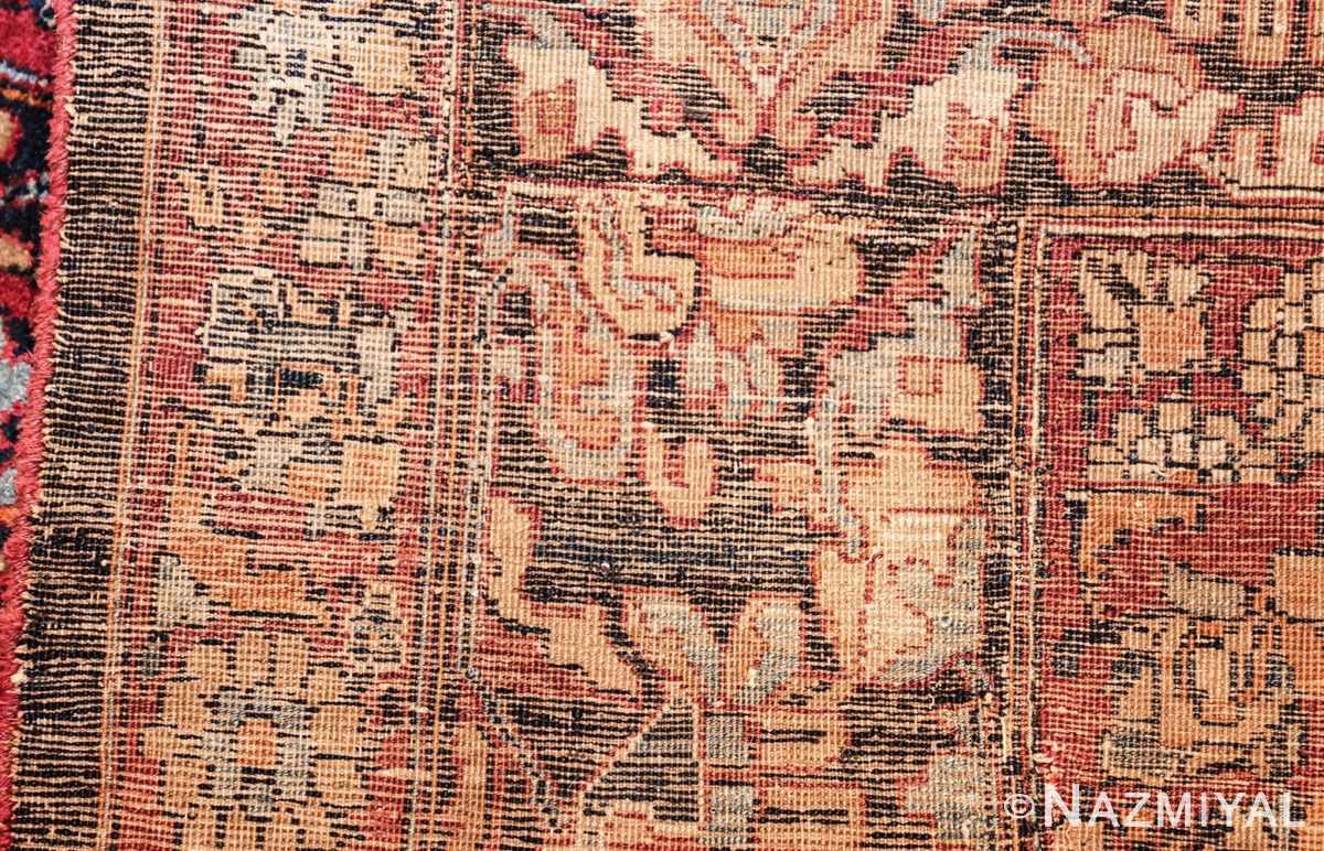 antique oversize persian kerman carpet 46909 weave Nazmiyal