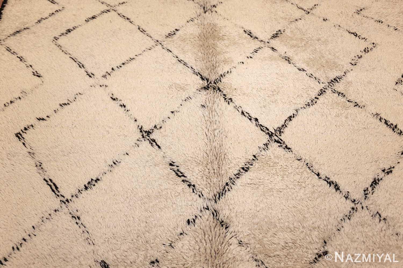 vintage moroccan rug 47108 field Nazmiyal