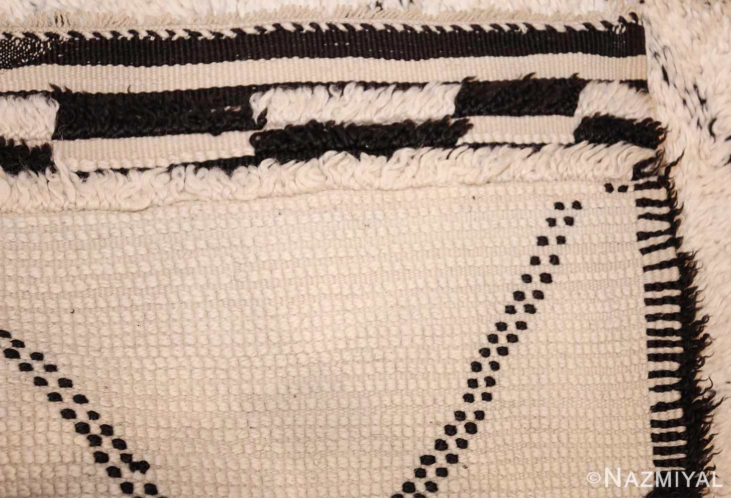 vintage moroccan rug 47108 weave Nazmiyal