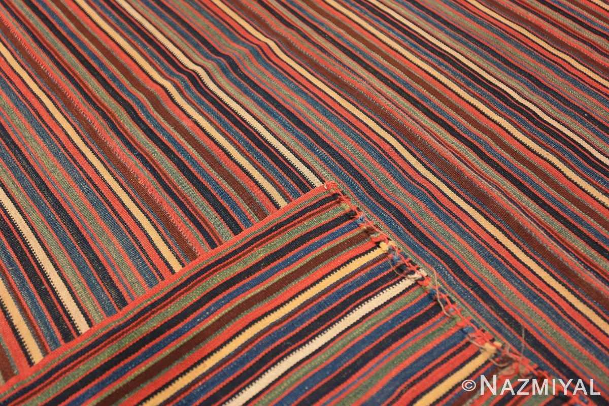 Weave Antique Persian Jajim Kilim 47155 by Nazmiyal