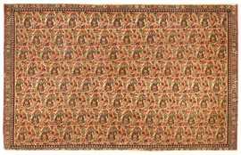 Antique Persian Senneh Rug 47229 Detail/Large View