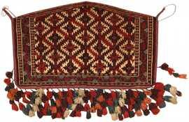 Antique Turkeman Carpet 47231 Detail/Large View