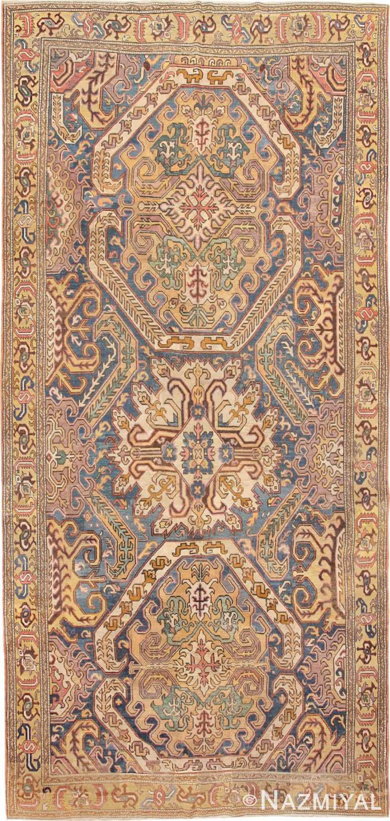 Antique 18th Century Karabagh Rug 47245 Nazmiyal