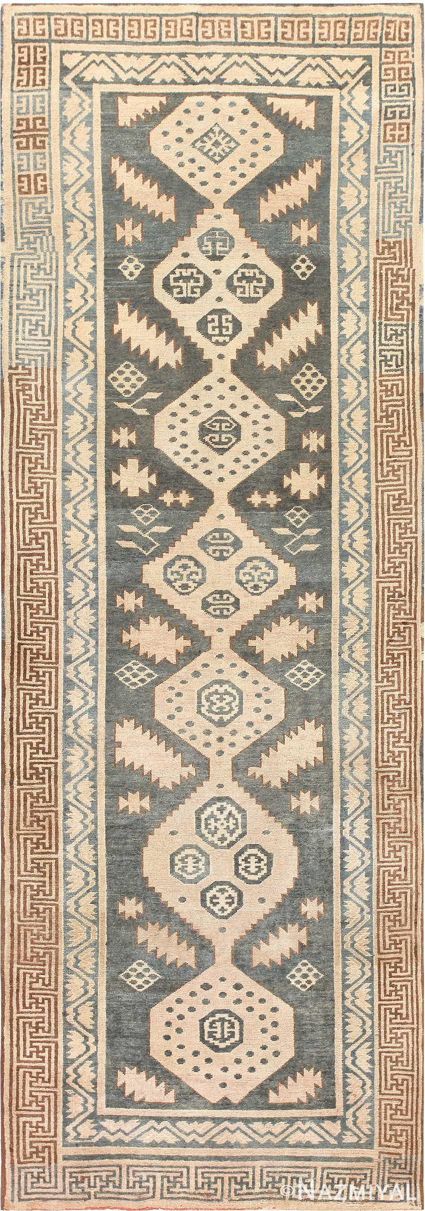 Antique Khotan Carpet 47250 Detail/Large View