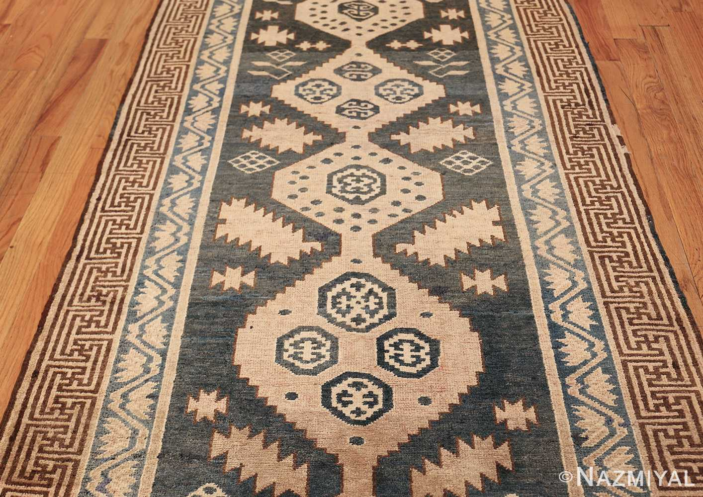 antique khotan carpet 47250 field Nazmiyal
