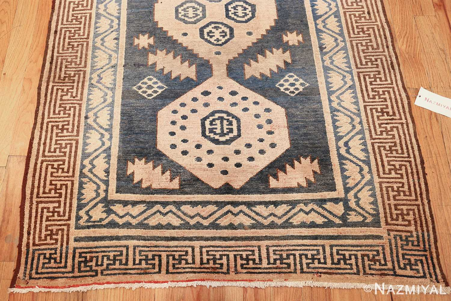 antique khotan carpet 47250 top Nazmiyal