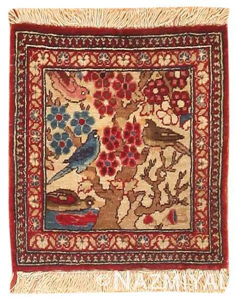 Antique Persian Kashan Rug 47227 Detail/Large View