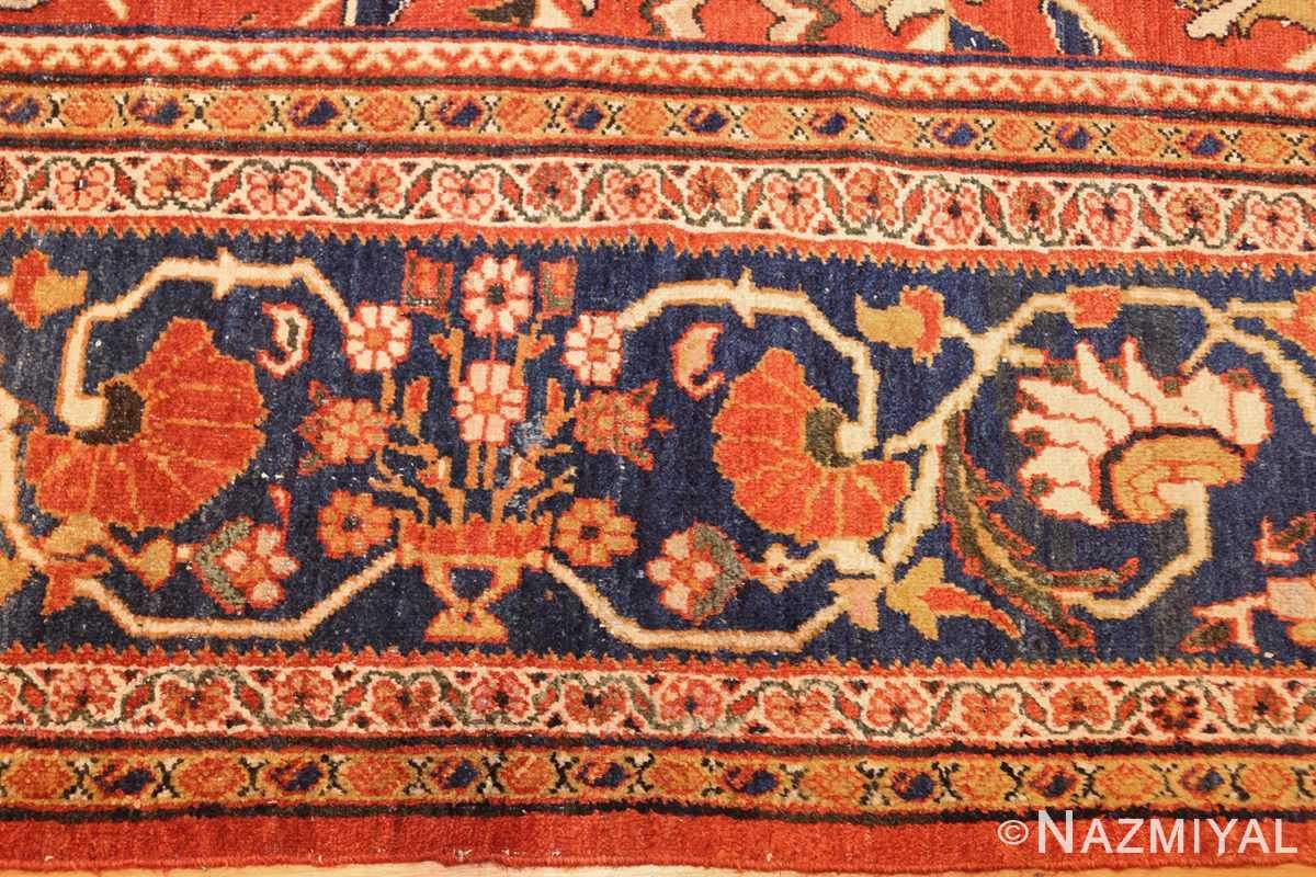 antique persian carpet 47267 darkblue Nazmiyal