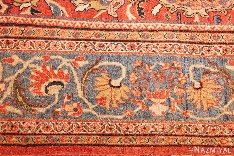 antique persian sultanabad carpet 47267 lightblue Nazmiyal