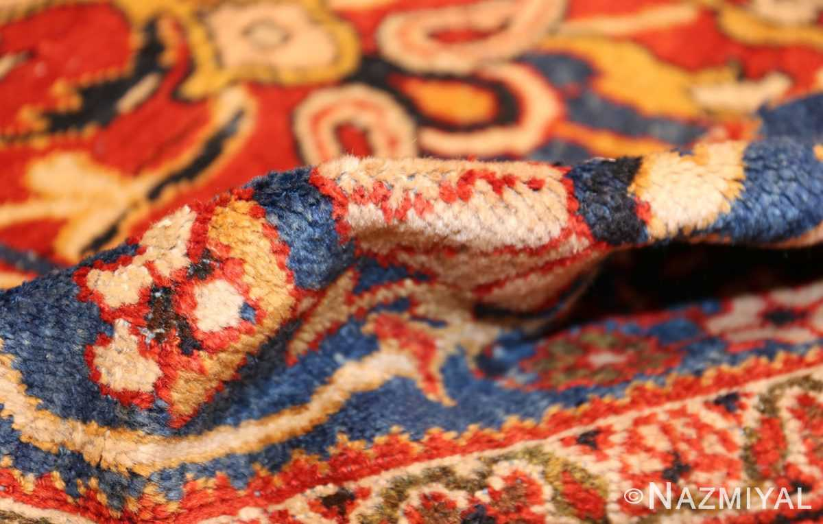 antique persian sultanabad carpet 47267 pile Nazmiyal