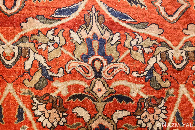 antique persian sultanabad carpet 47267 torch Nazmiyal