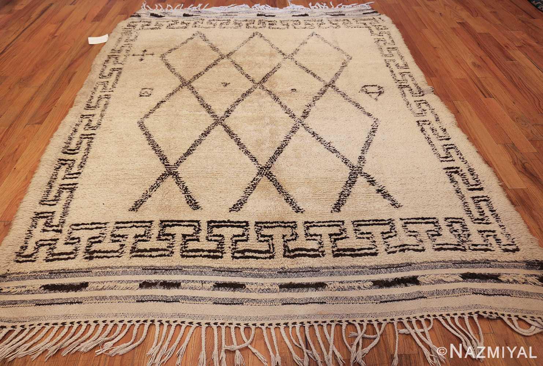 vintage moroccan beni ourain rug 47208 whole Nazmiyal