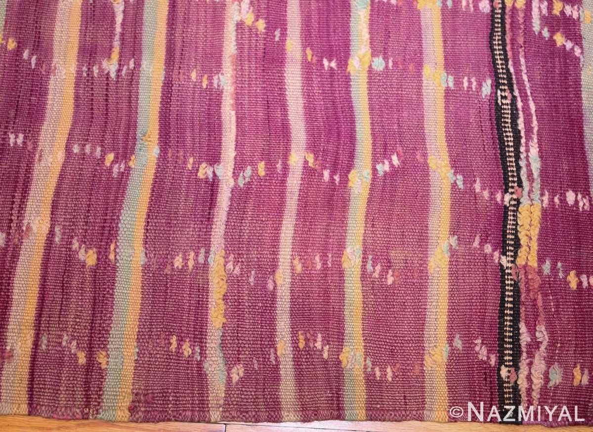 vintage moroccan kilim 47213 border Nazmiyal