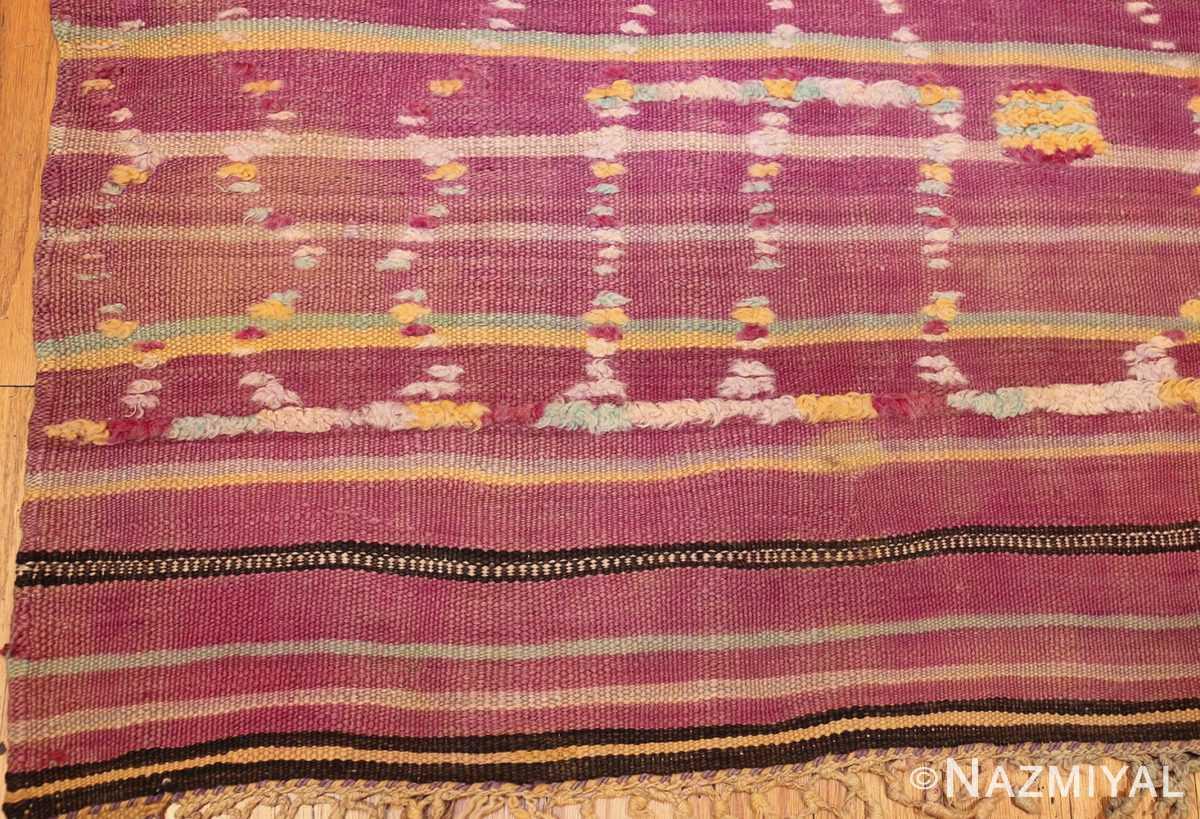 vintage moroccan kilim 47213 corner Nazmiyal