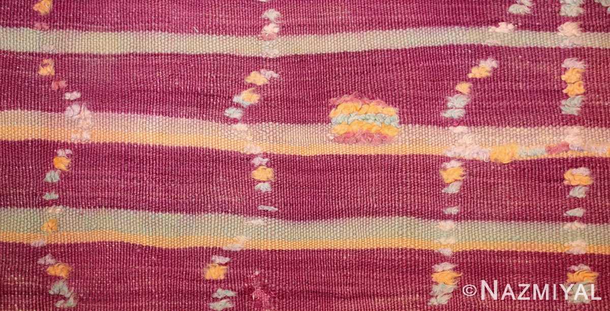 vintage moroccan kilim 47213 design Nazmiyal
