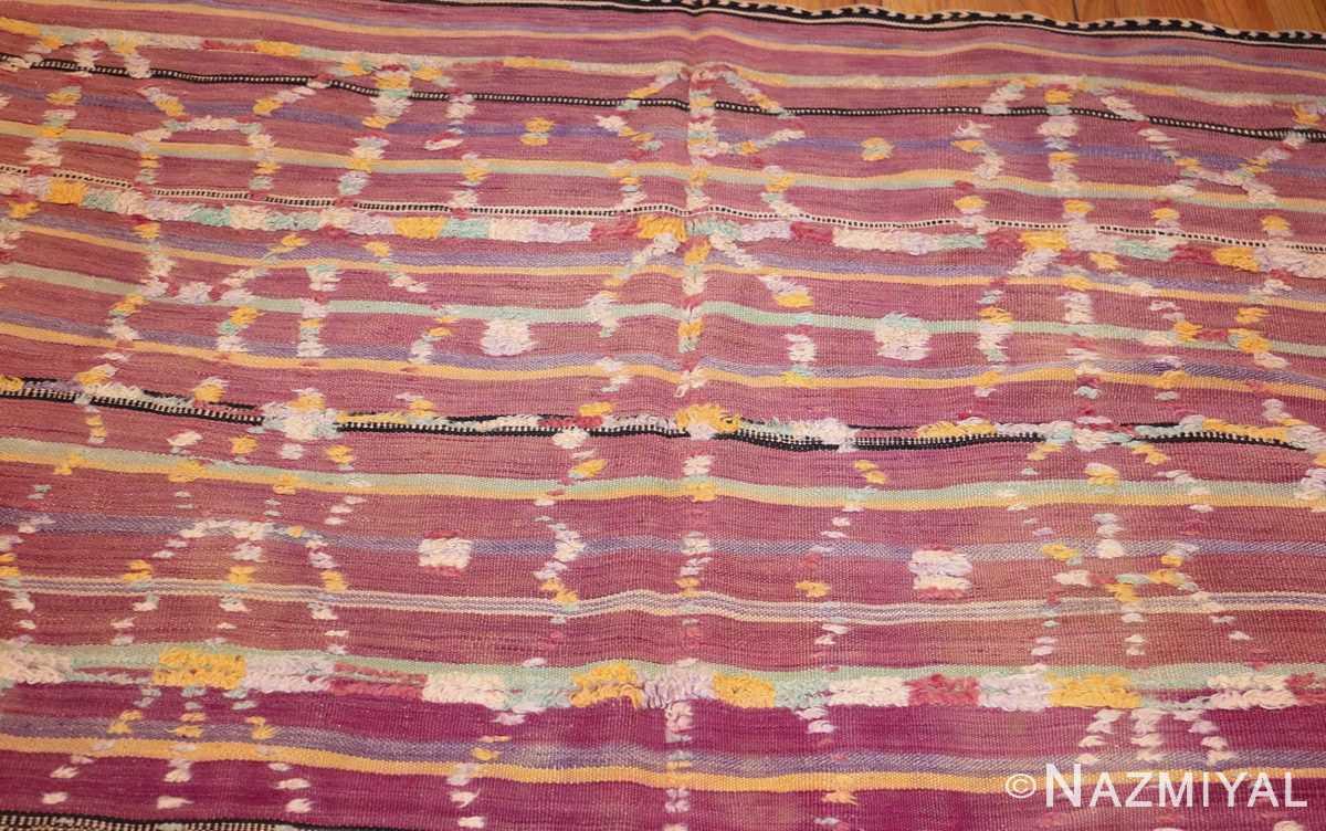 vintage moroccan kilim 47213 top Nazmiyal