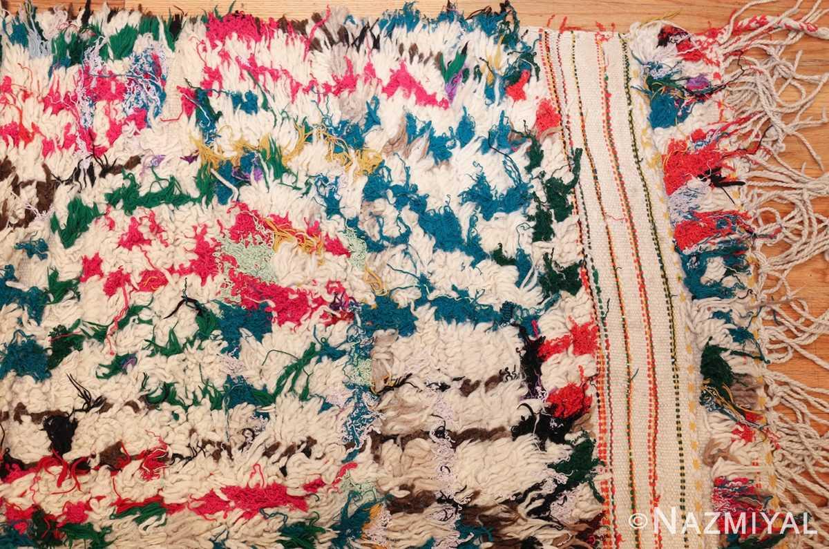 vintage moroccan rug 47216 corner Nazmiyal