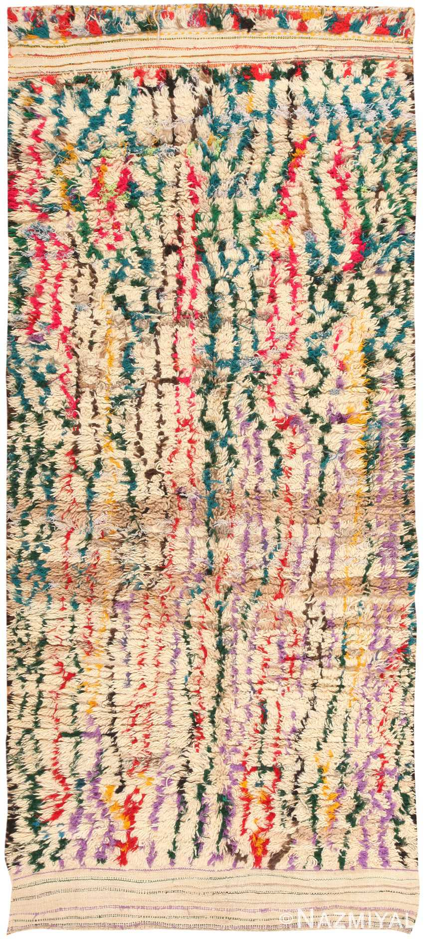Vintage Moroccan Rug 47216 Detail/Large View