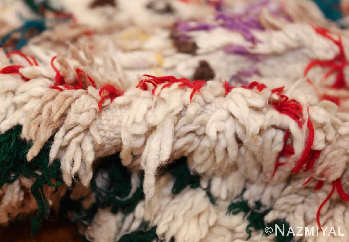 vintage moroccan rug 47216 pile Nazmiyal
