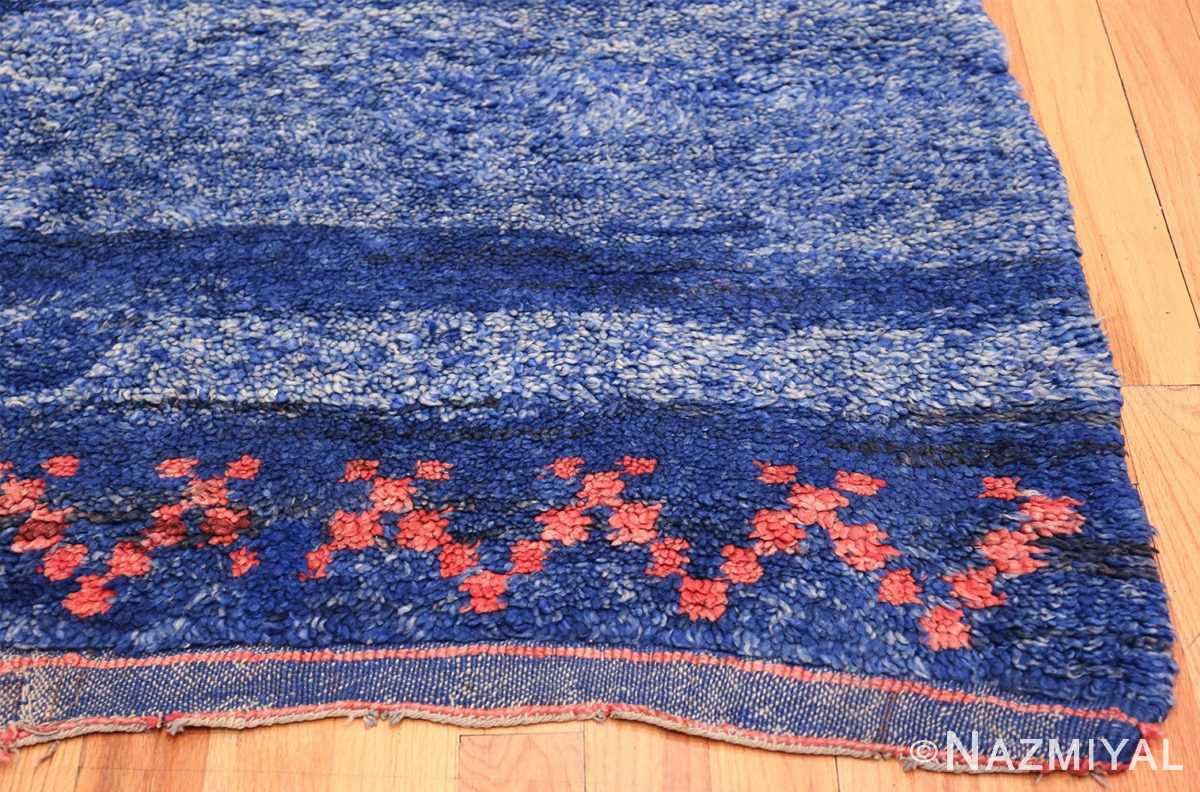 Vintage Moroccan Rug 49861 Jagged Design Corner Nazmiyal