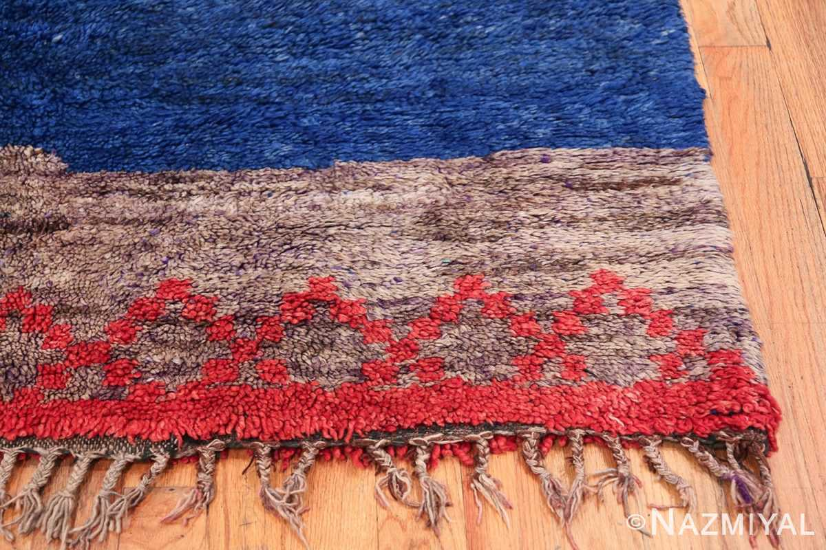 Vintage Moroccan Rug 49861 Right Side Corner Nazmiyal