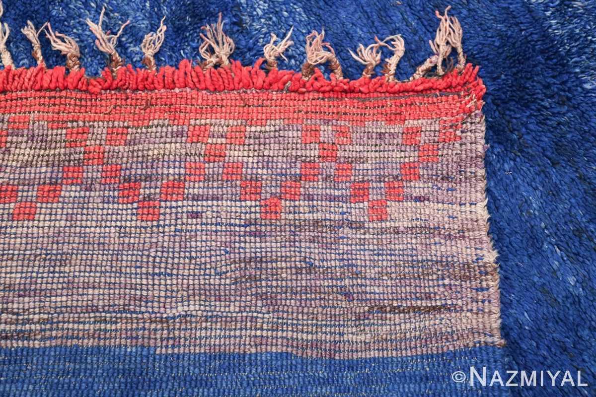 Vintage Moroccan Rug 49861 Woven Knots Nazmiyal
