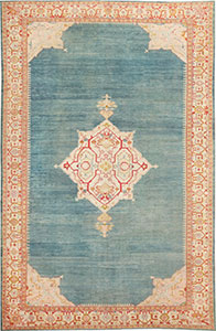 Antique Turkish Oushak Rug 47046