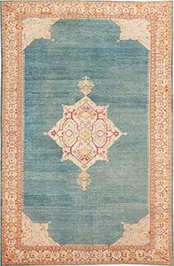 Tapis Antique turc Oushak 47046