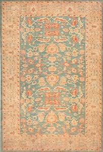 Tapis Antique turc Oushak 47383