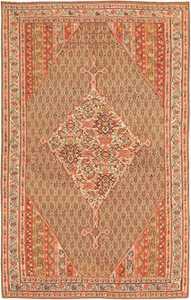 Antique Persian Senneh Kilim Carpet 47278 Nazmiyal