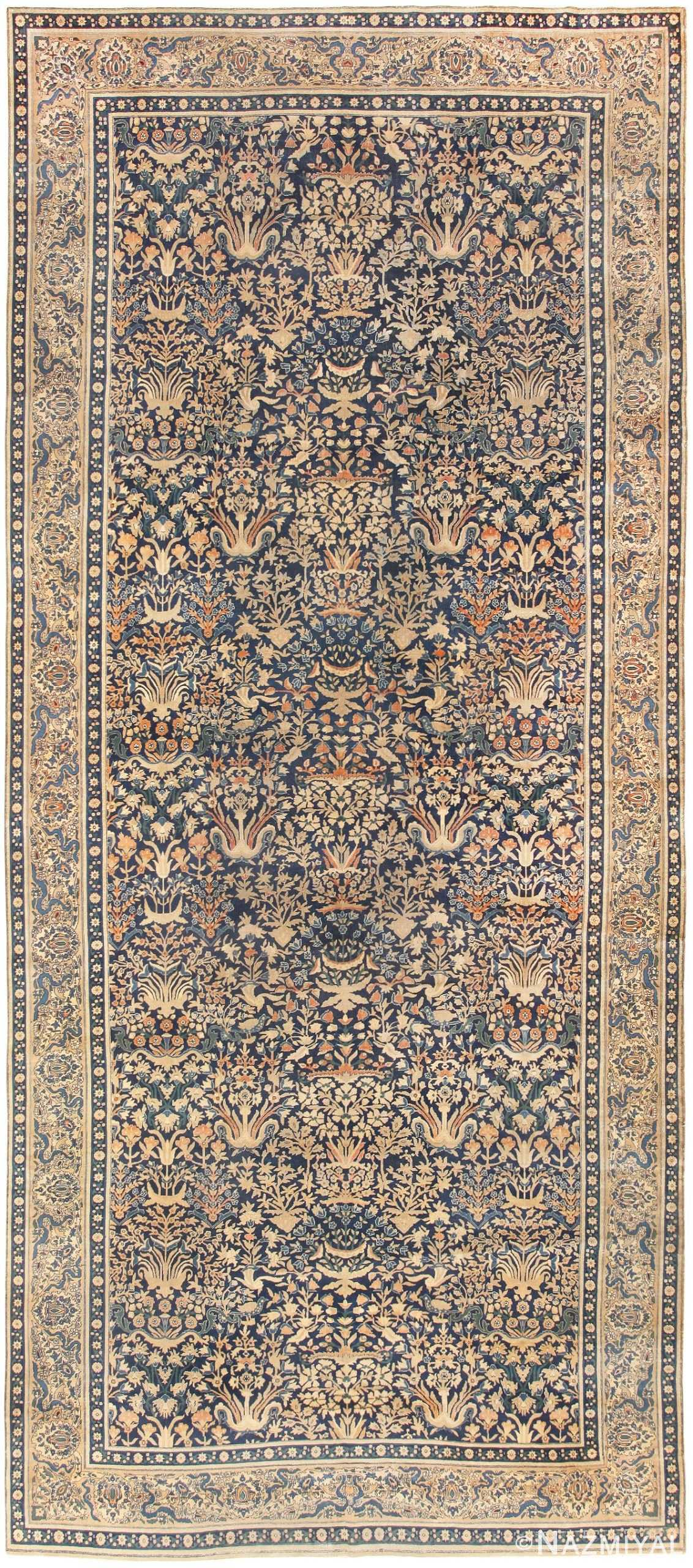 Antique Indian Agra Rug 40572 Detail/Large View