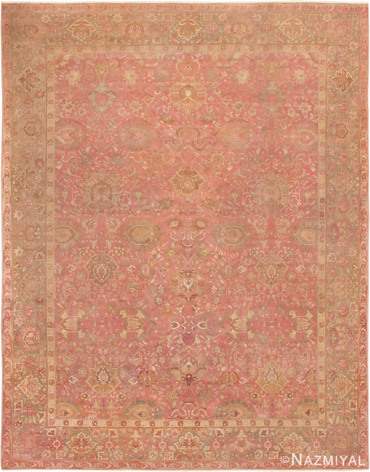 Antique Indian Amritsar Carpet 3277 Nazmiyal