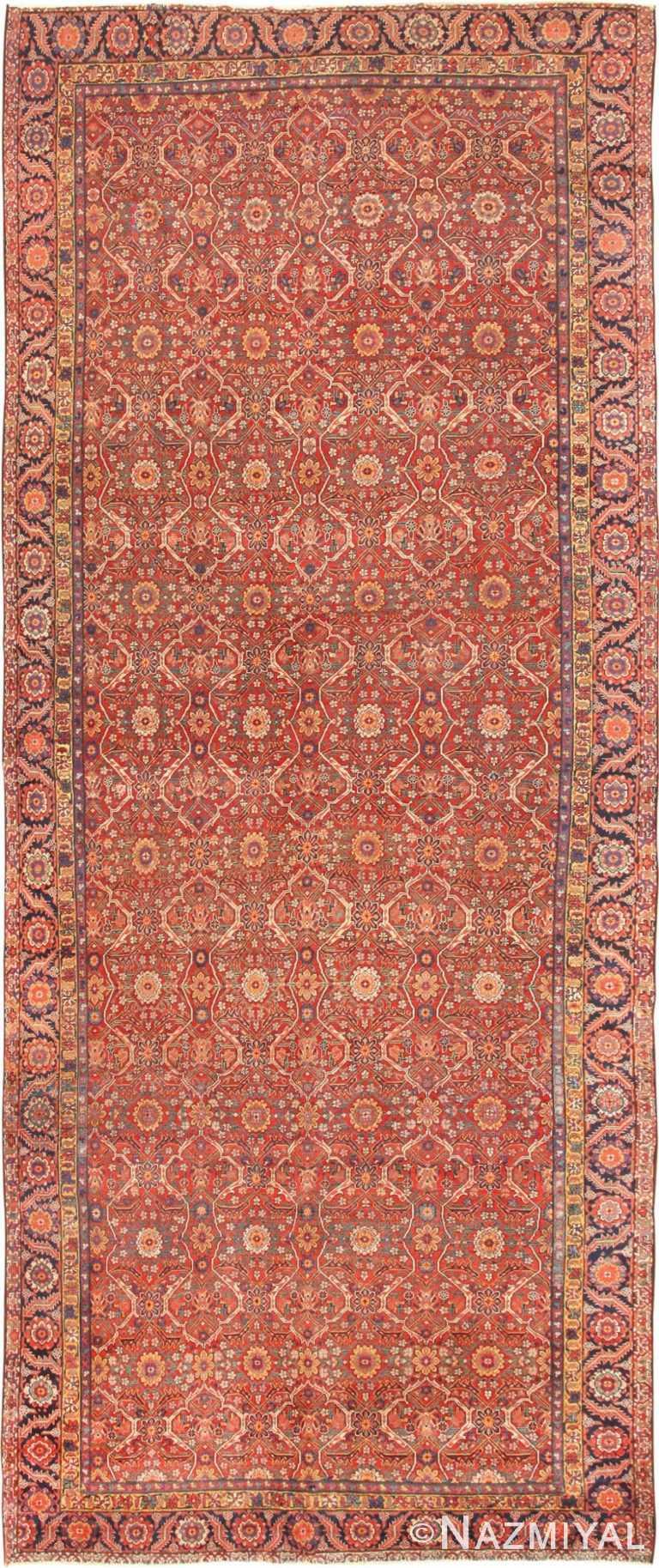 Antique Persian Farahan Carpet 47201 Nazmiyal