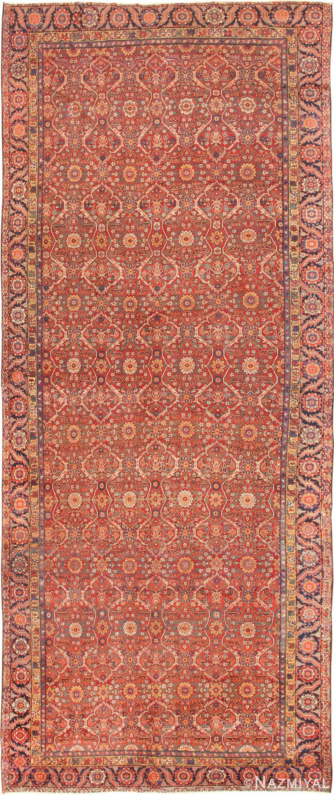 Antique Persian Farahan Carpet 47201 Nazmiyal