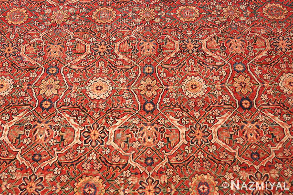 Background Large Antique Persian Farahan carpet 47201 by Nazmiyal