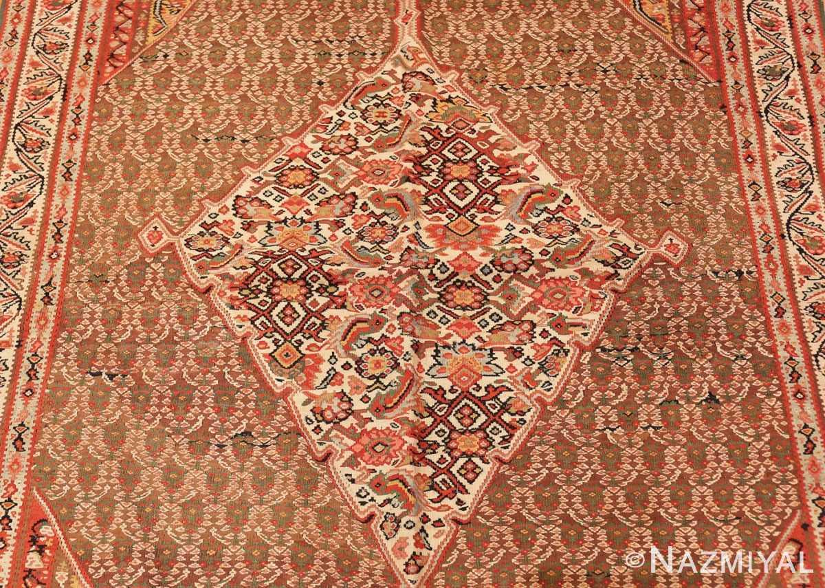Field Antique Persian Senneh Kilim rug 47278 by Nazmiyal